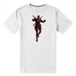 Мужская стрейчевая футболка Deadpool - FatLine