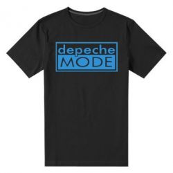 Мужская стрейчевая футболка Depeche Mode Rock - FatLine