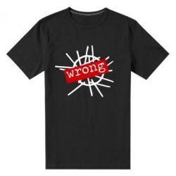 Мужская стрейчевая футболка Depeche Mode Wrong - FatLine