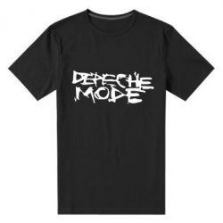 Мужская стрейчевая футболка Depeche mode - FatLine