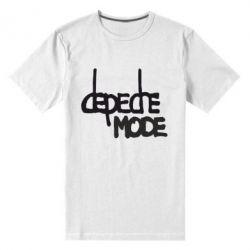 Мужская стрейчевая футболка Депеш Мод - FatLine