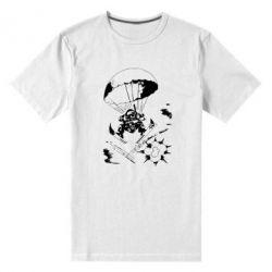 Мужская стрейчевая футболка Десантник - FatLine