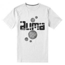 Мужская стрейчевая футболка Дима