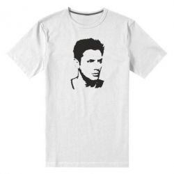 Мужская стрейчевая футболка Дин Винчестер - FatLine
