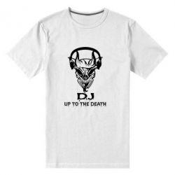 Мужская стрейчевая футболка Dj Up to the Dead - FatLine