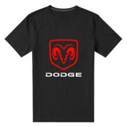 Мужская стрейчевая футболка DODGE - FatLine