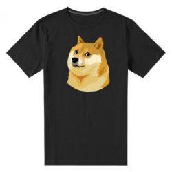 Мужская стрейчевая футболка Doge - FatLine