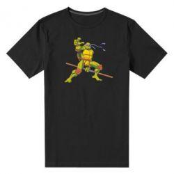 Мужская стрейчевая футболка Donatello - FatLine