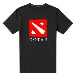 Мужская стрейчевая футболка Dota 2 Big Logo - FatLine