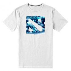 Мужская стрейчевая футболка Dota 2 Fan Art (Logo) - FatLine