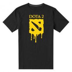 Мужская стрейчевая футболка Dota 2 Logo - FatLine
