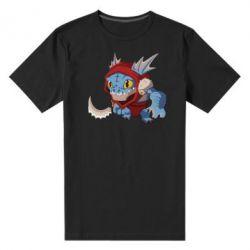 Мужская стрейчевая футболка Dota 2 Slark Art - FatLine