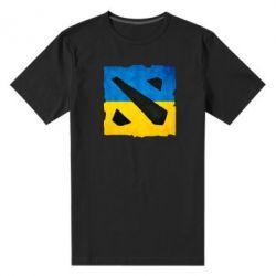 Мужская стрейчевая футболка Dota 2 Ukraine Team - FatLine