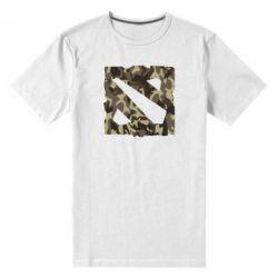 Мужская стрейчевая футболка Dota камуфляж - FatLine
