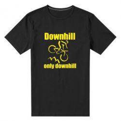 Чоловіча стрейчева футболка Downhill,only downhill