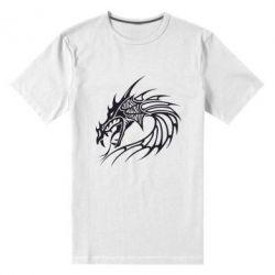 Мужская стрейчевая футболка Dragon - FatLine