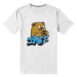 Мужская стрейчевая футболка Drift Bear - FatLine