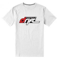 Мужская стрейчевая футболка Drift Formula - FatLine
