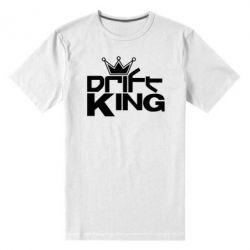 Мужская стрейчевая футболка Drift King - FatLine