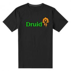 Мужская стрейчевая футболка Druid Orc - FatLine