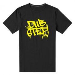 Мужская стрейчевая футболка Dub Step Граффити