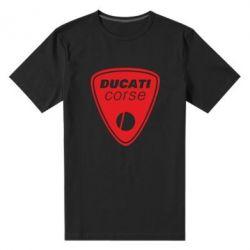 Мужская стрейчевая футболка Ducati Corse - FatLine