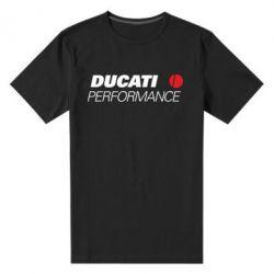 Мужская стрейчевая футболка Ducati Perfomance - FatLine