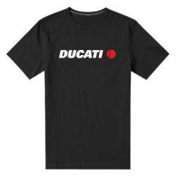 Мужская стрейчевая футболка Ducati - FatLine