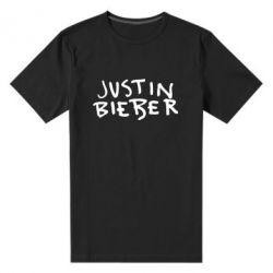Чоловіча стрейчева футболка Джастин Бибер