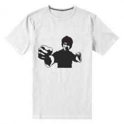 Мужская стрейчевая футболка Джеки Чан - FatLine