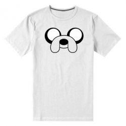 Мужская стрейчевая футболка Джейк - FatLine