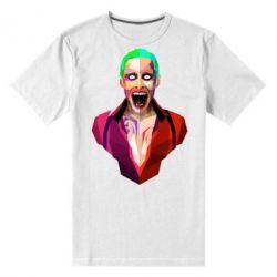 Мужская стрейчевая футболка Джокер Арт