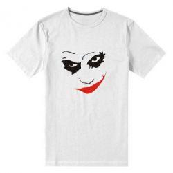 Мужская стрейчевая футболка Джокер - FatLine