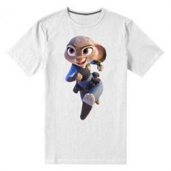 Мужская стрейчевая футболка Джуди Хопс - FatLine