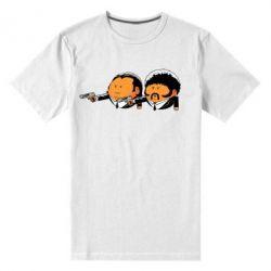 Мужская стрейчевая футболка Джулс и Винсент - FatLine