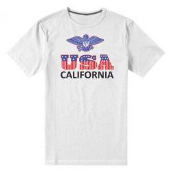 Мужская стрейчевая футболка Eagle USA - FatLine