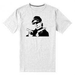 Мужская стрейчевая футболка Eazy-E Gunz - FatLine