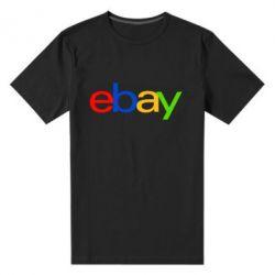 Мужская стрейчевая футболка Ebay - FatLine