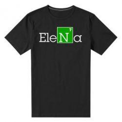 Мужская стрейчевая футболка Elena - FatLine