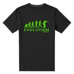Мужская стрейчевая футболка Eminem Evolution - FatLine
