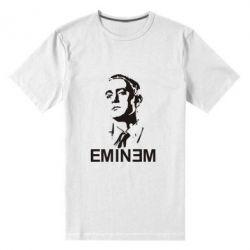 Мужская стрейчевая футболка Eminem Logo - FatLine