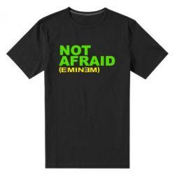 Мужская стрейчевая футболка Eminem Not Afraid - FatLine