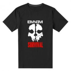 Мужская стрейчевая футболка Eminem Survival - FatLine