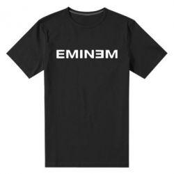 Мужская стрейчевая футболка Eminem - FatLine