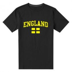 Мужская стрейчевая футболка England - FatLine