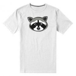 Мужская стрейчевая футболка Енотик - FatLine