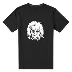 Чоловіча стрейчова футболка Енштейн - FatLine