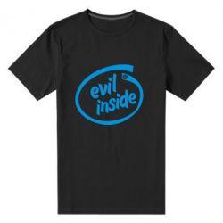 Мужская стрейчевая футболка Evil Inside - FatLine
