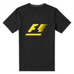 Мужская стрейчевая футболка F1 - FatLine