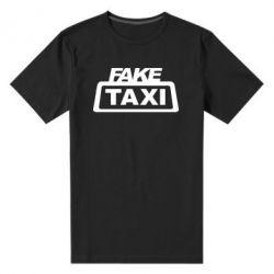 Мужская стрейчевая футболка Fake Taxi
